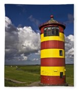 Pilsum Lighthouse Fleece Blanket