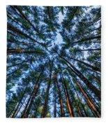 Pine Explosion Fleece Blanket