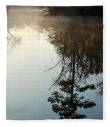 Pine Reflection Fleece Blanket