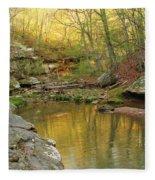 Piney Creek Reflections Fleece Blanket