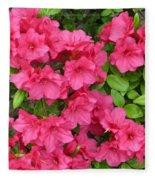 Pink Aura Fleece Blanket