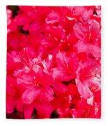 Pink Azalea's Fleece Blanket