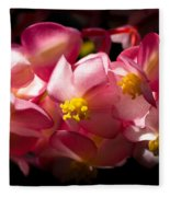 Pink Cascade Fleece Blanket