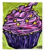 Pink Cupcake Fleece Blanket