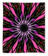 Pink Explosion Fleece Blanket