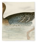 Pink Footed Goose Fleece Blanket