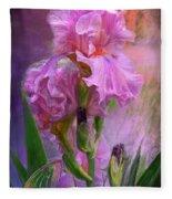Pink Goddess Fleece Blanket