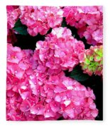 Hot Pink Fleece Blanket