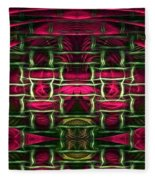 Pink Illusion Fleece Blanket