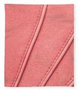 Pink Moleskin Fleece Blanket