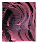 Pink Panels Fleece Blanket