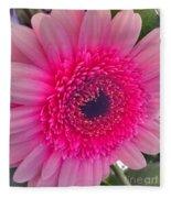 Pink Petals Fleece Blanket