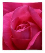 Pink Rose 02 Fleece Blanket