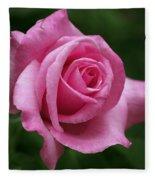 Pink Rose Perfection Fleece Blanket