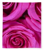 Pink Roses 2 Fleece Blanket