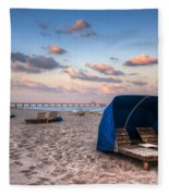Pink Sands Fleece Blanket