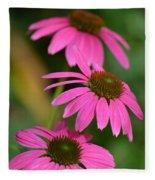 Pink Trifecta Fleece Blanket
