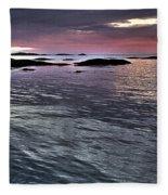 Pinkyblue Horizon 2 Fleece Blanket