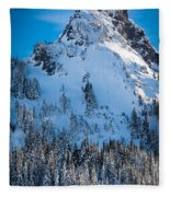 Pinnacle Peak Winter Glory Fleece Blanket