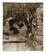 Pinnacles National Monument California Circa 1946 Fleece Blanket