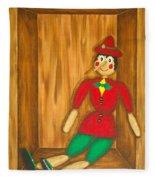 Pinocchio Fleece Blanket