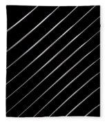 Pinstripes Phone Fleece Blanket