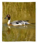 Pintail Duck Fleece Blanket