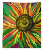 Pinwheel Fleece Blanket