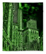 Pioneer Square In The Emerald City - Seattle Washington Fleece Blanket