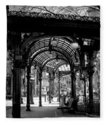 Pioneer Square Pergola Fleece Blanket