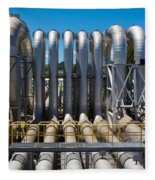 Pipeline Installation For Distribution And Supply Fleece Blanket