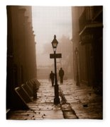 Pirate's Alley  New Orleans Fleece Blanket