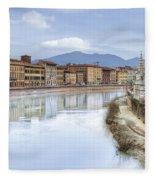 Pisa Fleece Blanket