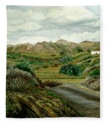 Pitas' Path Fleece Blanket