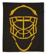 Pittsburgh Penguins Goalie Mask Fleece Blanket