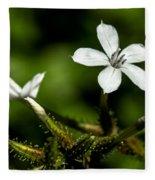 Pixie Flower Fleece Blanket