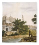 Pl. 41 A View Of The Cuttera Built Fleece Blanket