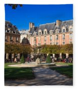 Place Des Vosges Paris Fleece Blanket