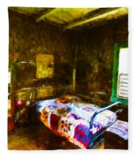 Places From The Past Fleece Blanket