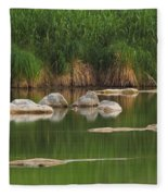 Llano River 2am-106459 Fleece Blanket