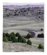 Plains Of Nebraska Fleece Blanket