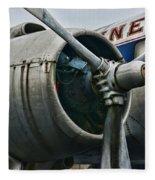 Plane Check Your Engine Fleece Blanket