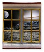 Planetscape Fleece Blanket