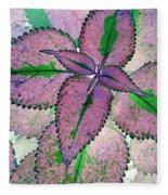 Plant Pattern - Photopower 1211 Fleece Blanket