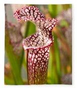 Plant - Pretty As A Pitcher Plant Fleece Blanket