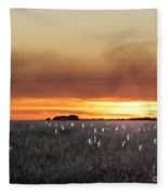 Plant Rd Lacassine Nwr Louisiana Fleece Blanket