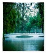 Plantation Bridge Fleece Blanket