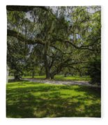 Plantation Grounds Fleece Blanket