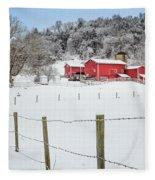 Platt Farm Fleece Blanket