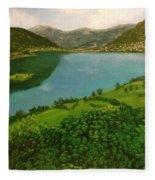 Plav Montenegro  Fleece Blanket